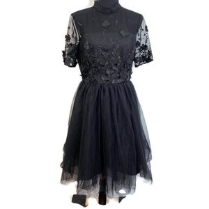 NWT. ModCloth Chi Chi London High Neck Lace Dress